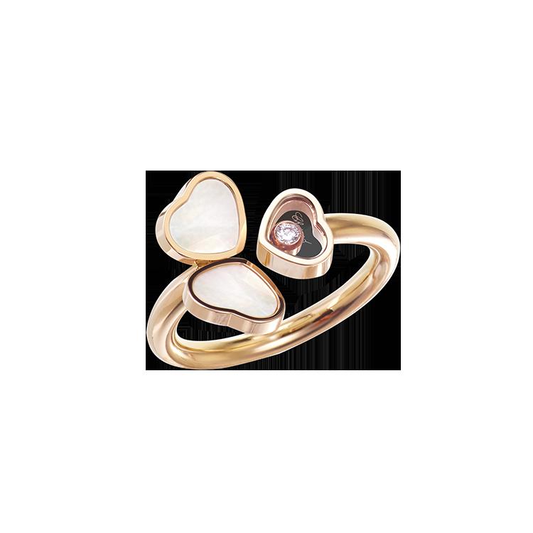 Zlatý Prsten Chopard Happy Hearts 82A083-5310