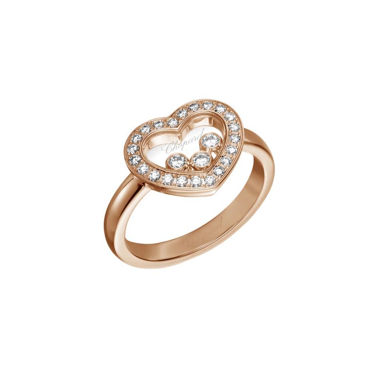 Zlatý Prsten Chopard Happy Diamonds 82A611-5211