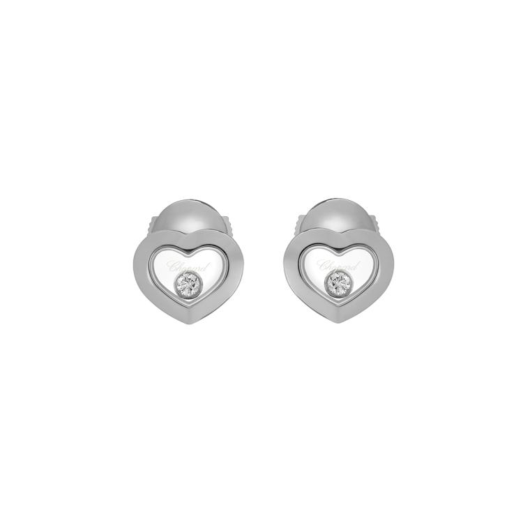 Zlaté Náušnice Chopard Happy Diamonds 83A054-1001