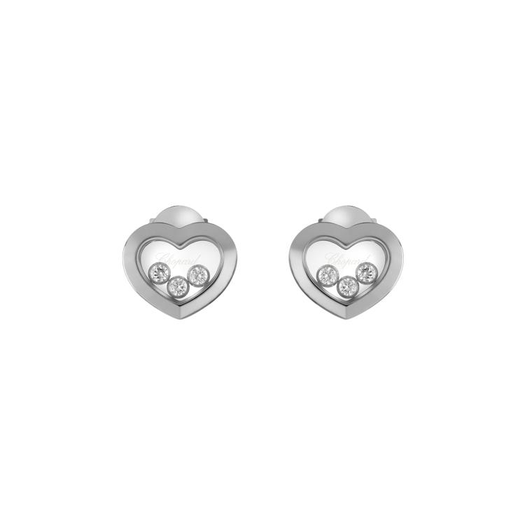 Zlaté Náušnice Chopard Happy Diamonds 83A611-1001