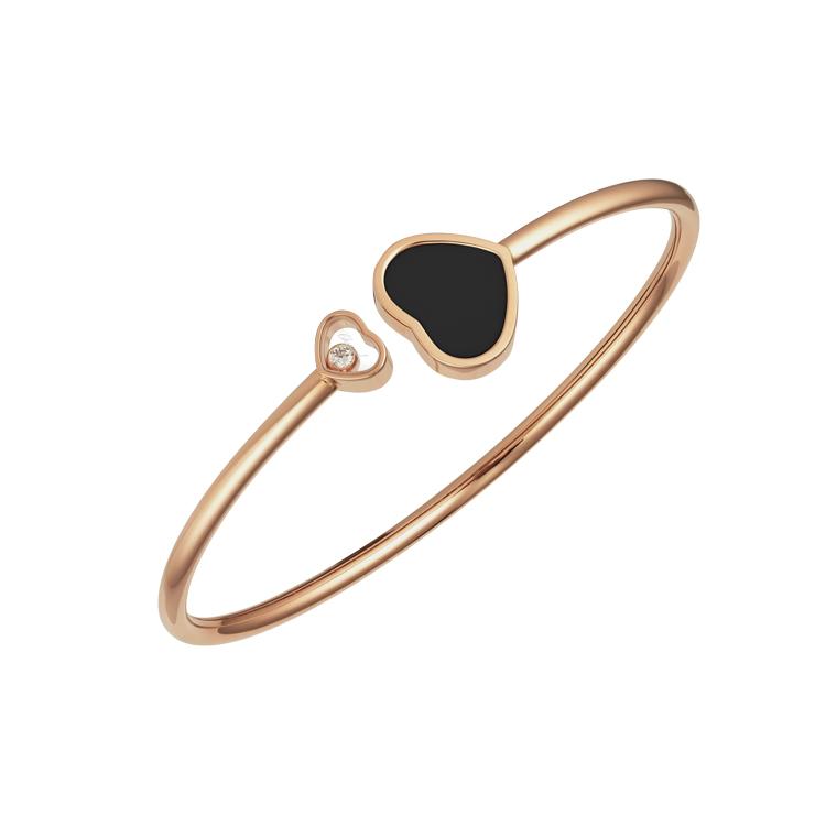Zlatý Náramek Chopard Happy Hearts 857482-5203