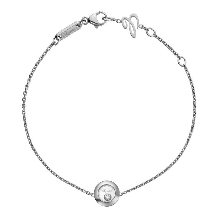 Zlatý Náramek Chopard Happy Diamonds 85A017-1001