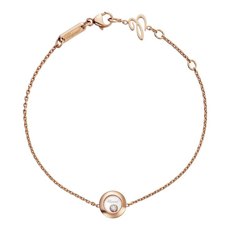 Zlatý Náramek Chopard Happy Diamonds 85A017-5001