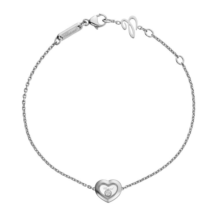 Zlatý Náramek Chopard Happy Diamonds 85A054-1001