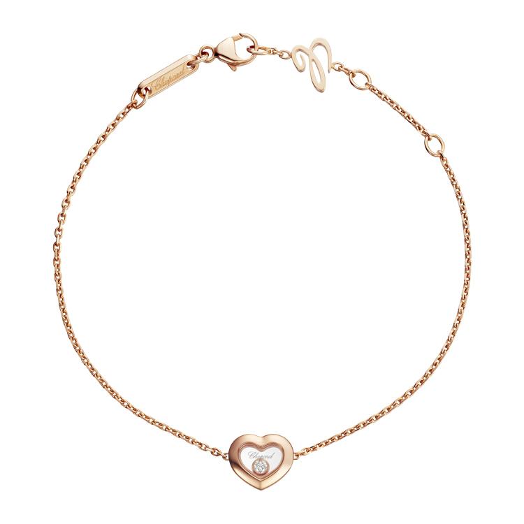Zlatý Náramek Chopard Happy Diamonds 85A054-5001