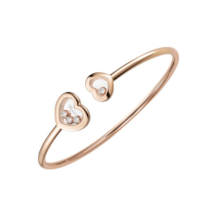 Zlatý Náramek Chopard Happy Diamonds 85A614-5002