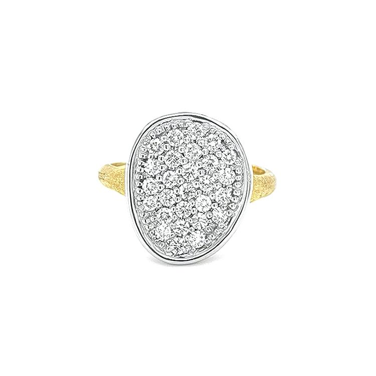 Zlatý Prsten s Diamanty Marco Bicego Lunaria