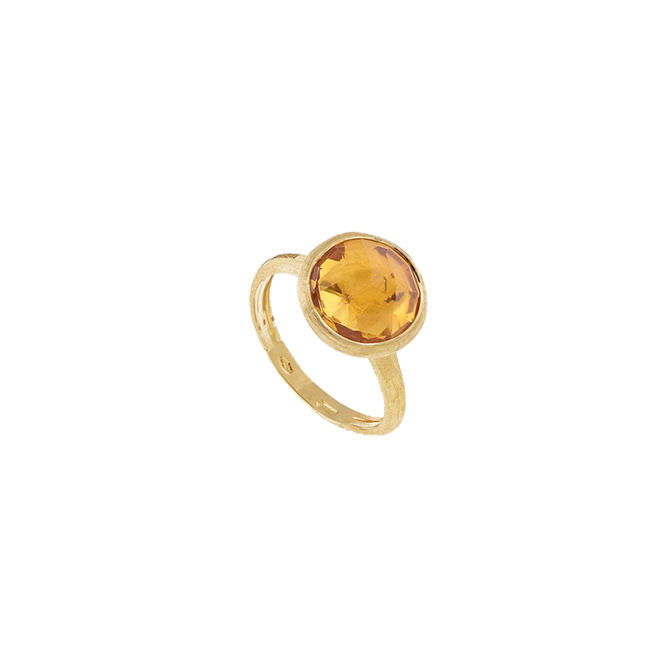 Zlatý Prsten s Citrínem Marco Bicego Jaipur
