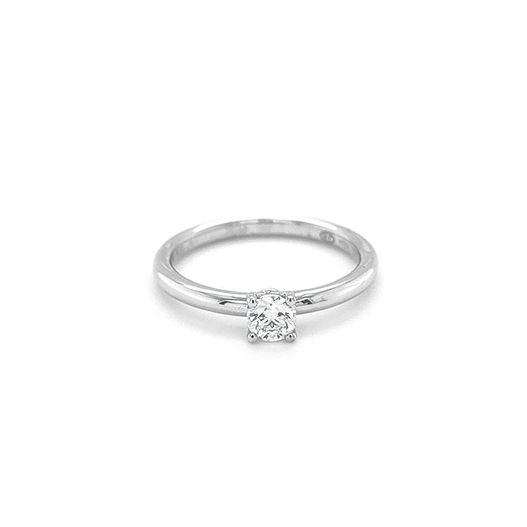 Beny Zlatý Zásnubní Prsten s Diamantem