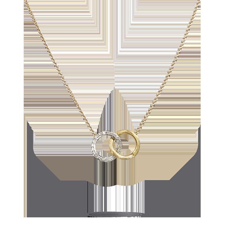 Zlatý Náhrdelník s Diamanty Marco Bicego Delicati