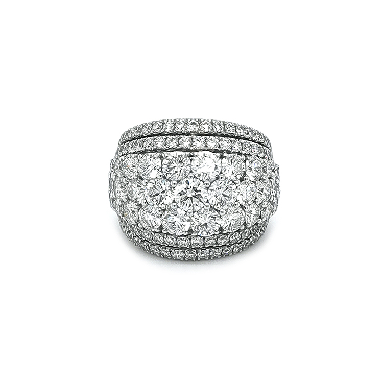 Zlatý Prsten Crivelli s Diamanty