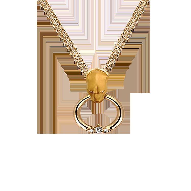 Zlatý Náhrdelník s Diamanty Magerit Vitral Aldaba