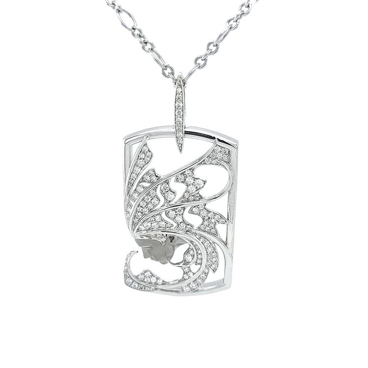 Zlatý Přívěsek s Diamanty Magerit Atlantis Sirena Aire
