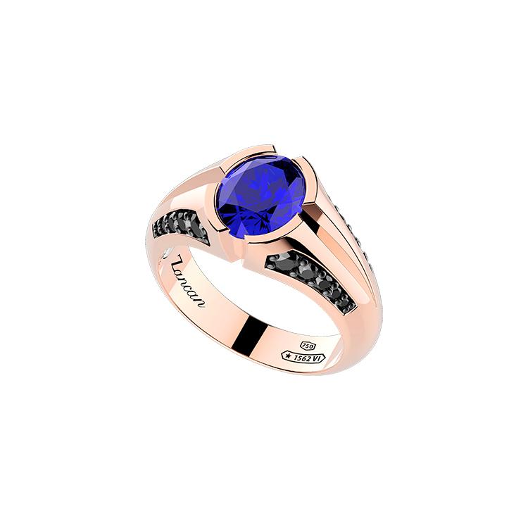 Zlatý Prsten Zancan Couture Saphhire