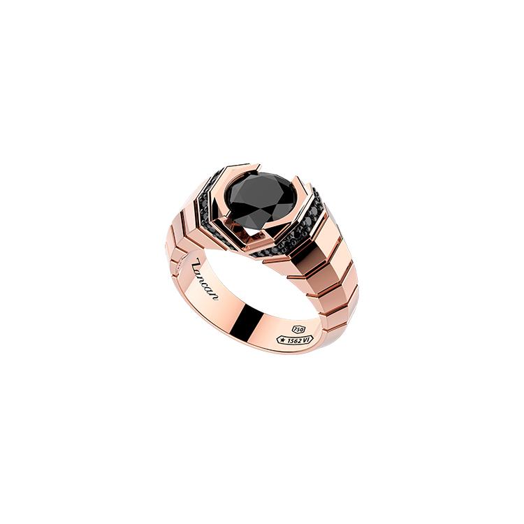 Zlatý Prsten Zancan Couture Sapphire