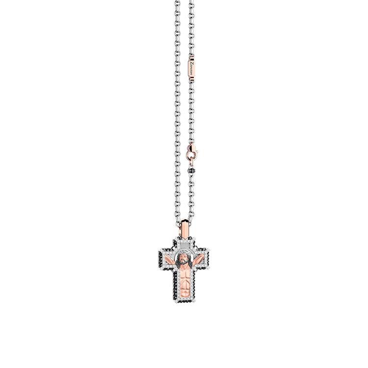 Zlatý Přívěsek Kříž Zancan Simbolika