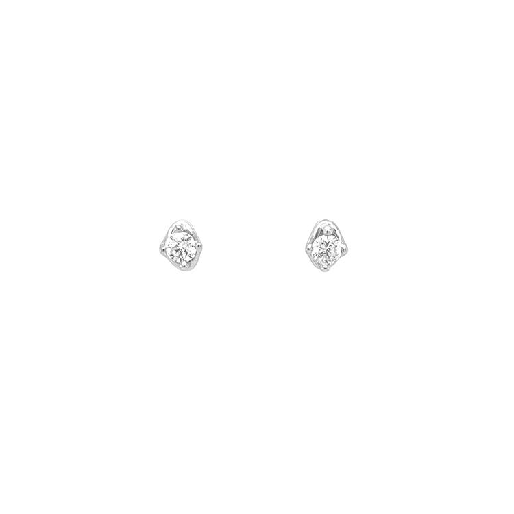 Zlaté Náušnice s Diamanty