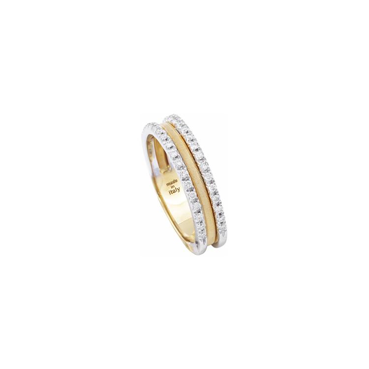 Zlatý Prsten s Diamanty Marco Bicego Goa