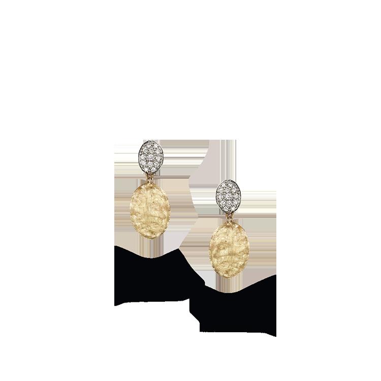 Zlaté Náušnice s Diamanty Marco Bicego Siviglia