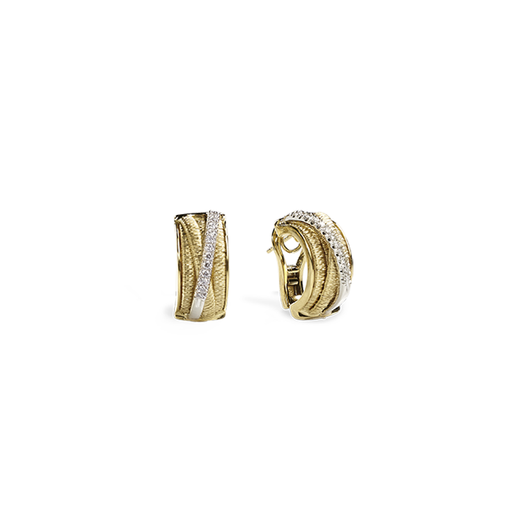 Zlaté Náušnice s Diamanty Marco Bicego Cairo