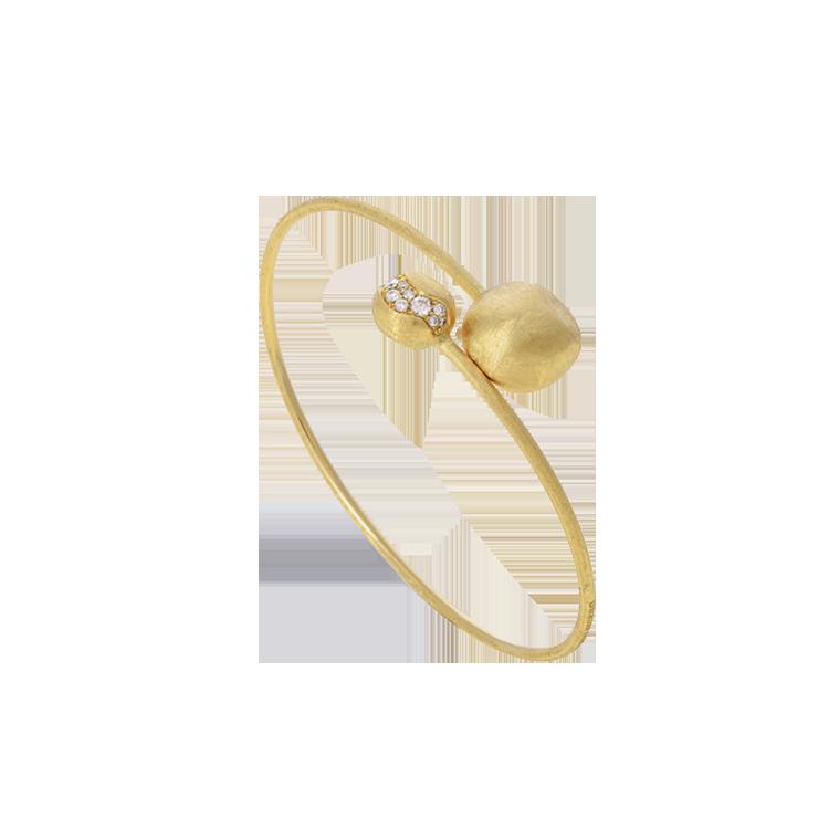 Zlatý Náramek s Diamanty Marco Bicego Africa