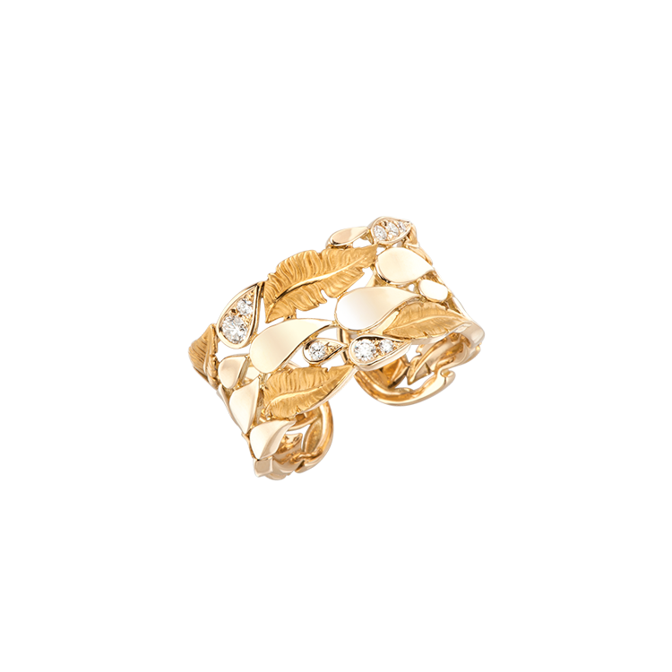 Zlatý Prsten s Diamanty Magerit Hechizo Romance