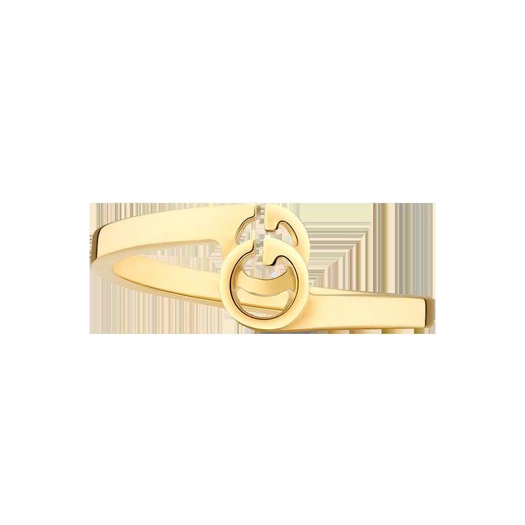 Zlatý Prsten Gucci GG Running
