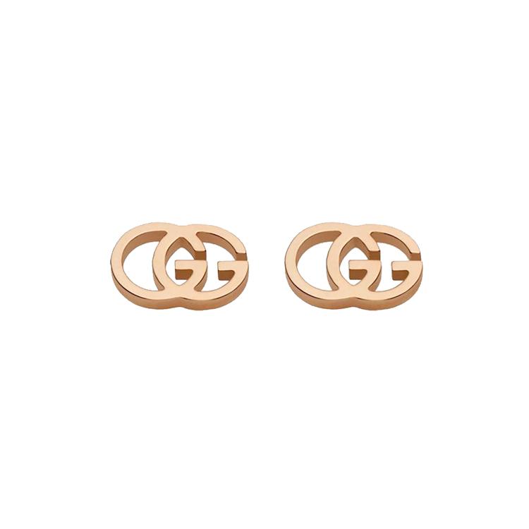 Zlaté Náušnice Gucci GG Running